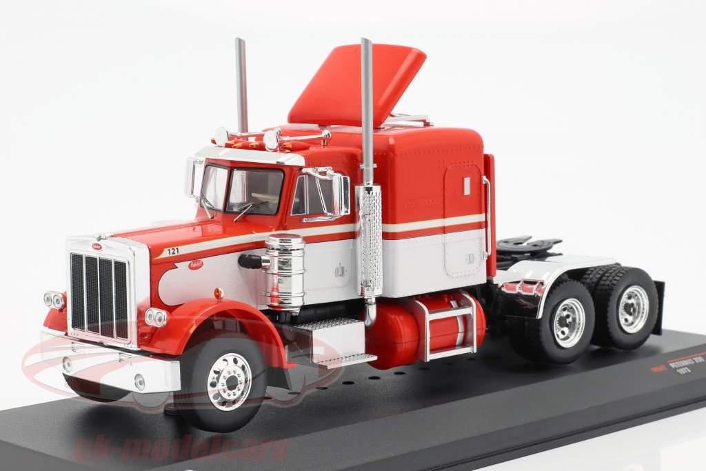 Peterbilt 359 camión año de construcción 1973 rojo / blanco 1:43 Ixo