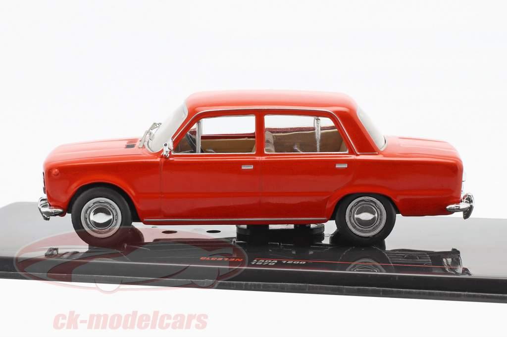 Lada 1200 year 1970 red 1:43 Ixo