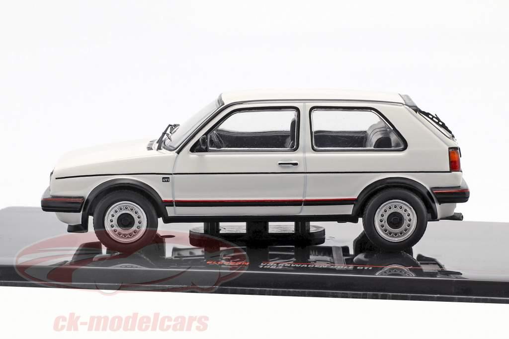 Volkswagen VW Golf II GTi Bouwjaar 1984 wit 1:43 Ixo