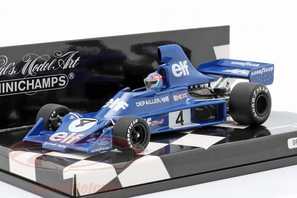 Tyrrell Ford 007 Depailler Formel 1 1975-1:43 Minichamps 400750004