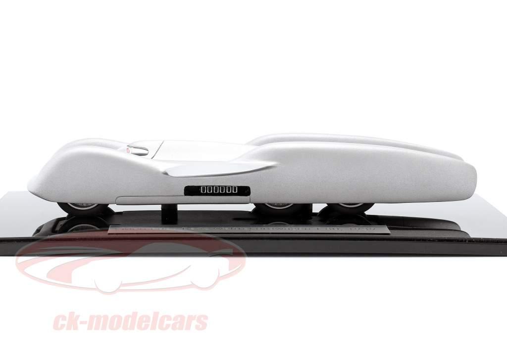 Mercedes-Benz mundo registro coche T 80 año de construcción 1939 plata 1:43 Autocraft