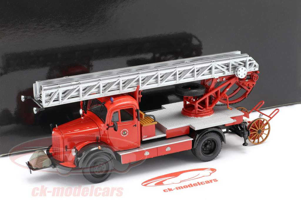 Mercedes-Benz L3500 DL17 pompiers Bensheim 1950 1:43 Minichamps