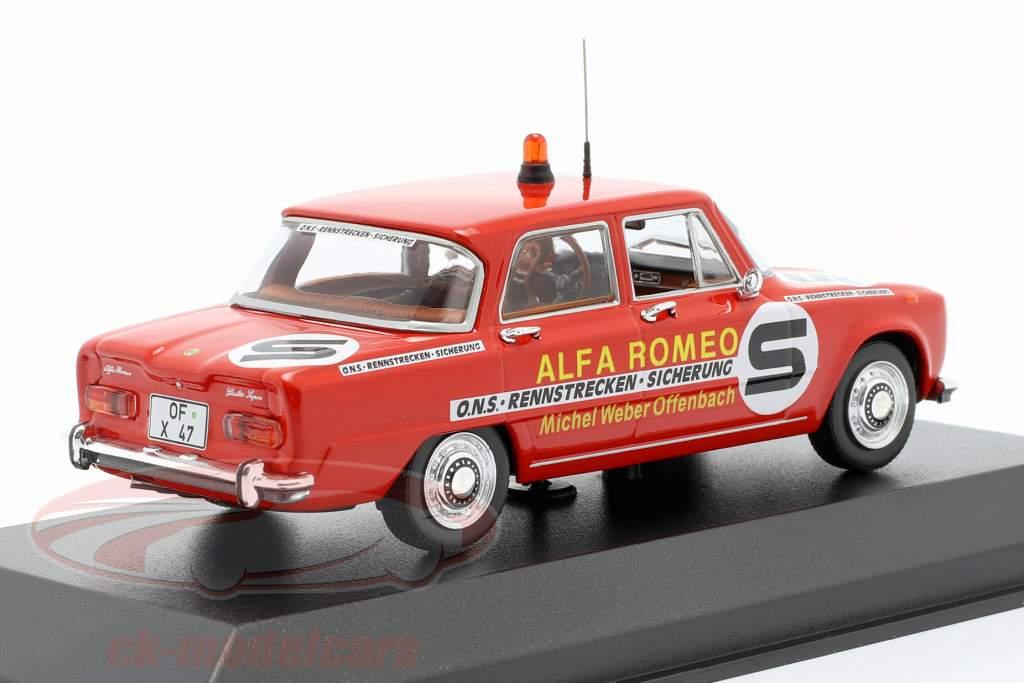 Alfa Romeo Giulia ONS kredsløb sikring 1973 1:43 Minichamps