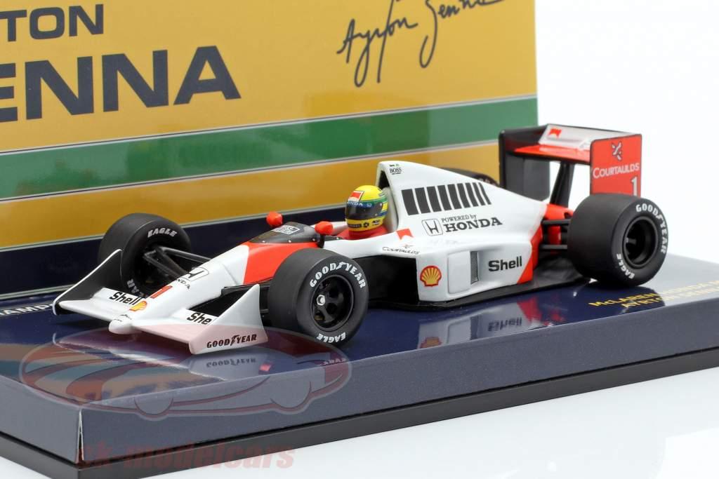 Ayrton Senna McLaren MP4/5 #1 formule 1 1989 1:43 Minichamps