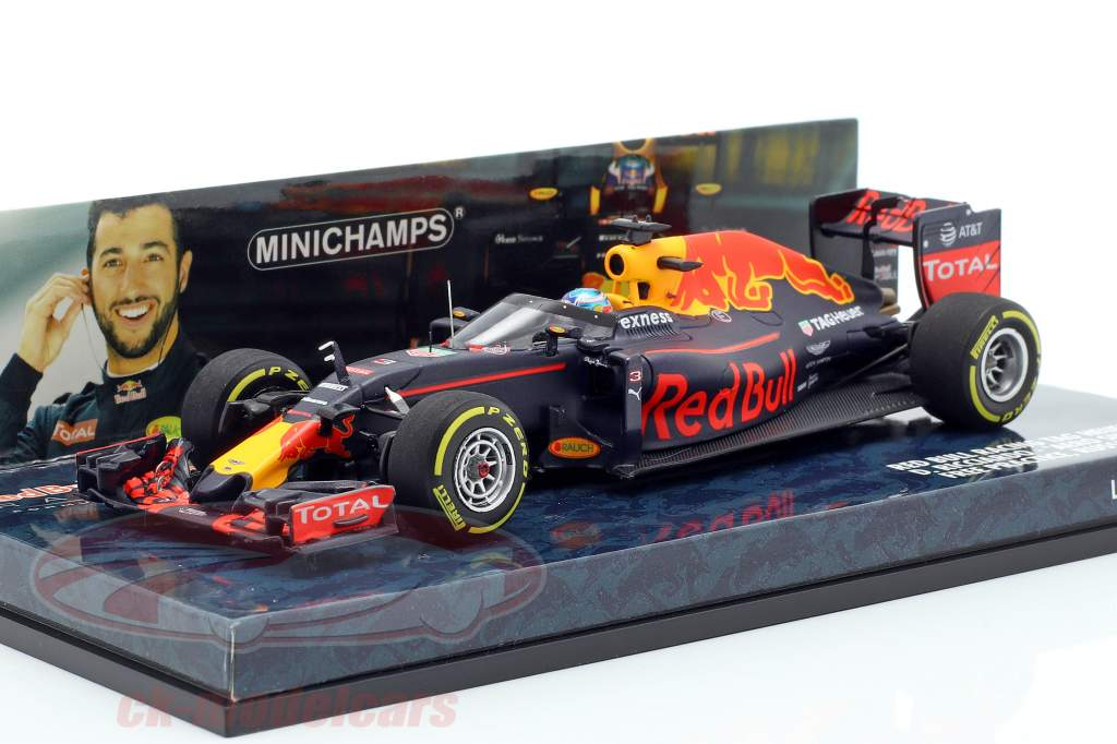 Minichamps 1 43 Daniel Ricciardo Red Bull Rb12 3 Aero Shield Test Russia Gp F1 2016 417160203 Model Car 417160203 4012138139763