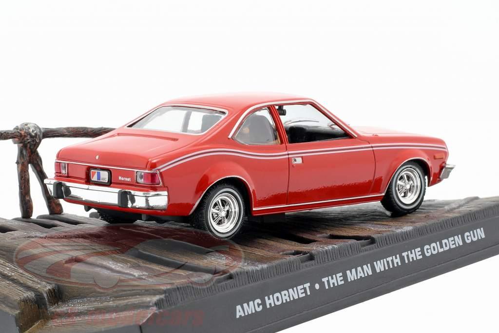 AMC Hornet película de James Bond Coche del hombre de la pistola de oro rojo una y cuarenta y tres Ixo