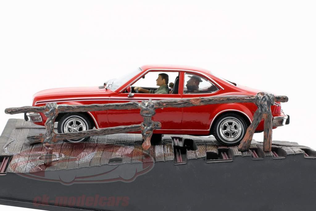 AMC Hornet James Bond Film voiture de l homme avec le pistolet d'or rouge Ixo 1:43