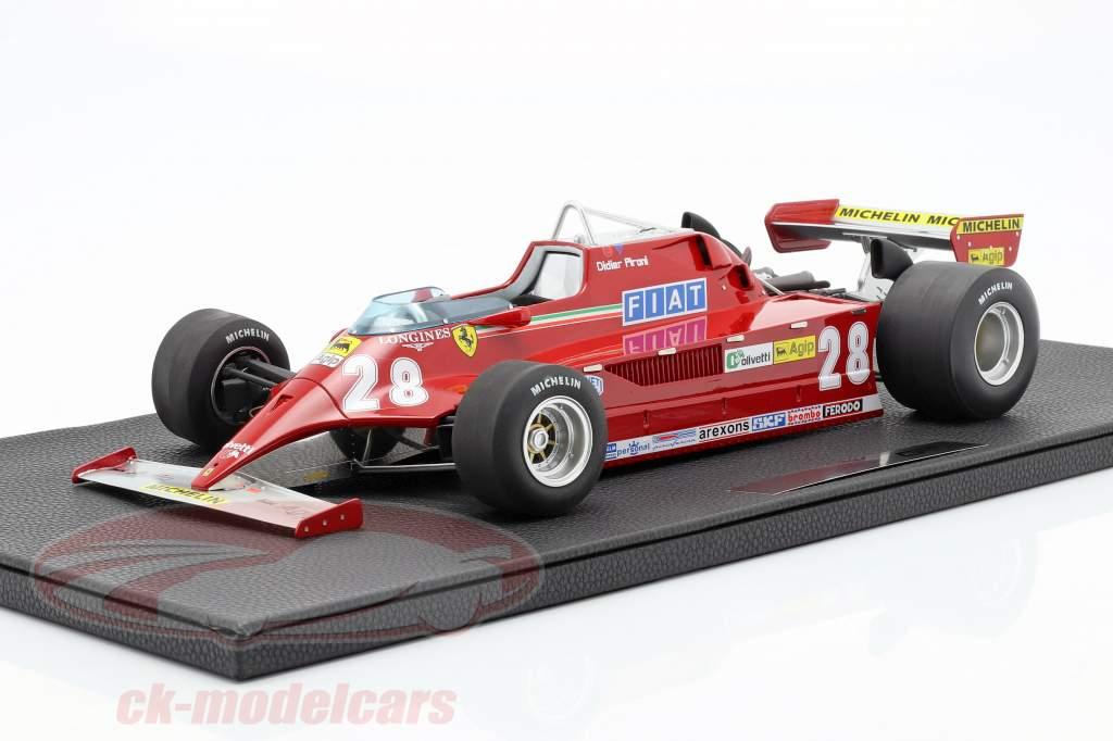 Didier Pironi Ferrari 126CK #28 formule 1 1981 1:12 GP Replicas