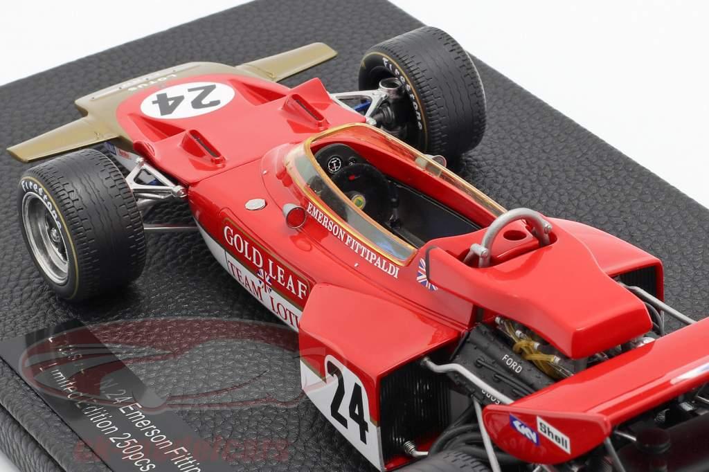Emerson Fittipaldi Lotus 72C #24 formel 1 1970 1:18 GP Replicas