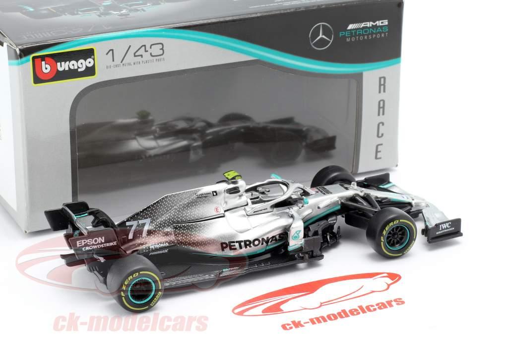 Valtteri Bottas Mercedes-AMG F1 W10 EQ Power  #77 Formel 1 2019 1:43 BBURAGO