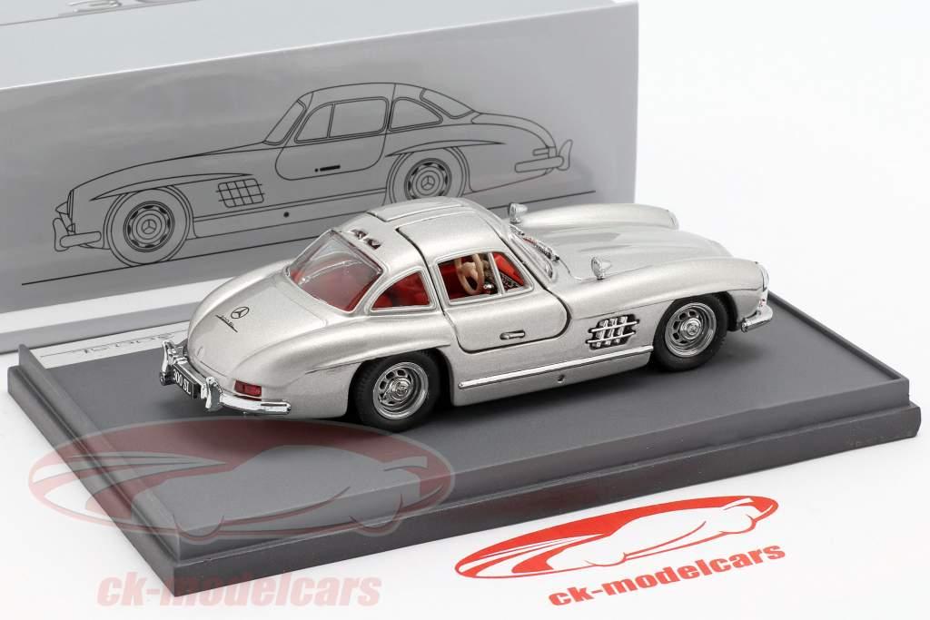 Mercedes-Benz 300 SL (W198) Gullwing anno di costruzione 1954 argento 1:43 Brumm
