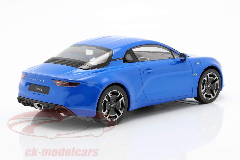 Renault Alpine A110 Legende 2018 alpine blue 1:18 Norev