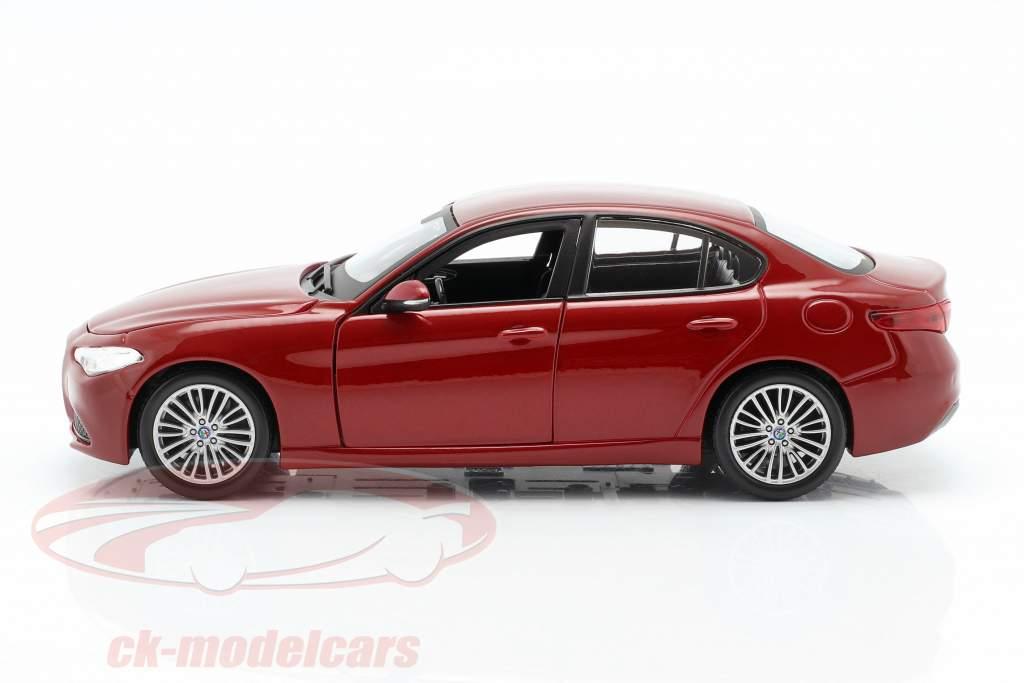 Alfa Romeo Giulia rød 1:24 Bburago