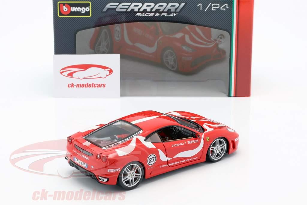 Ferrari F430 Fiorano #27 rood 1:24 Bburago