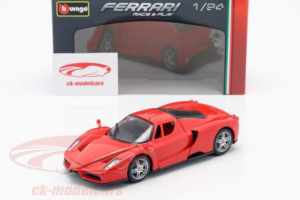 Ferrari Enzo Ano de construção 2002-2004 vermelho 1:24 Bburago