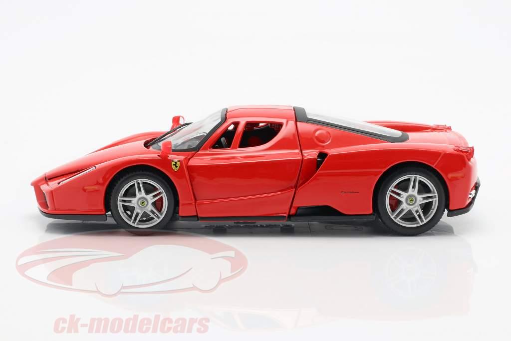 Ferrari Enzo bouwjaar 2002-2004 rood 1:24 Bburago