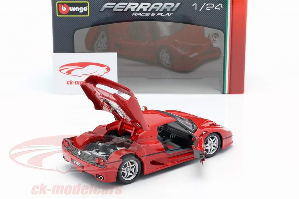 Ferrari F50 rojo 1:24 Bburago