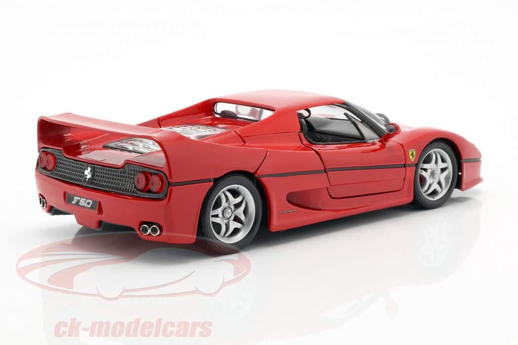 Ferrari F50 rood 1:24 Bburago