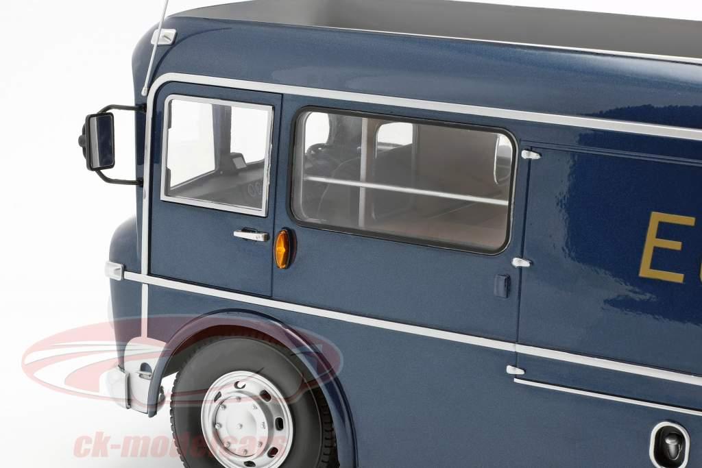 Commer TS3 Truck squadra trasportatore Ecurie Ecosse 1959 blu metallico 1:18 CMR