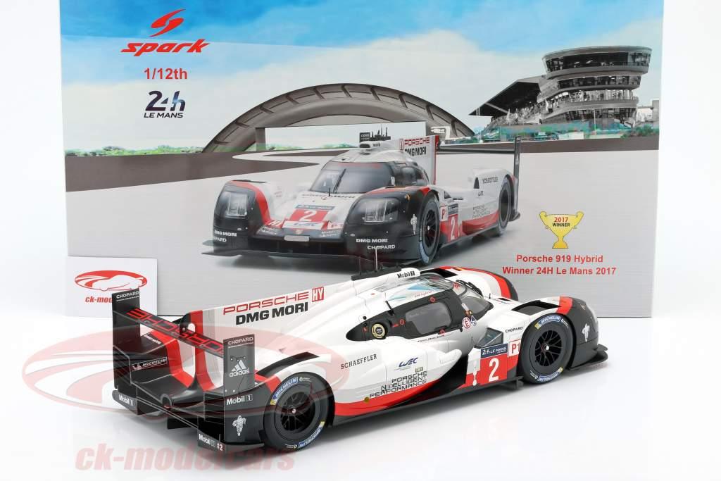 Porsche 919 Hybrid #2 Sieger 24h LeMans 2017 Bernhard, Hartley, Bamber 1:12 Spark