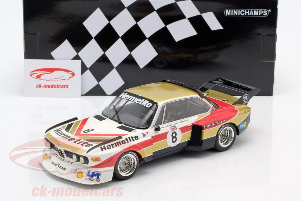 BMW 3.5 CSL #8 1000km Nürburgring 1976 Fitzpatrick, Walkinshaw 1:18 Minichamps