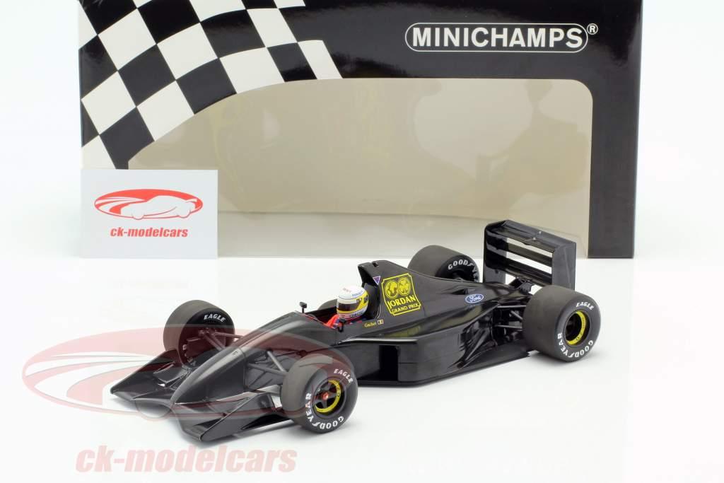 Bertrand Gachot Jordan 191 formel 1 prøve Paul Ricard januar 1991 1:18 Minichamps