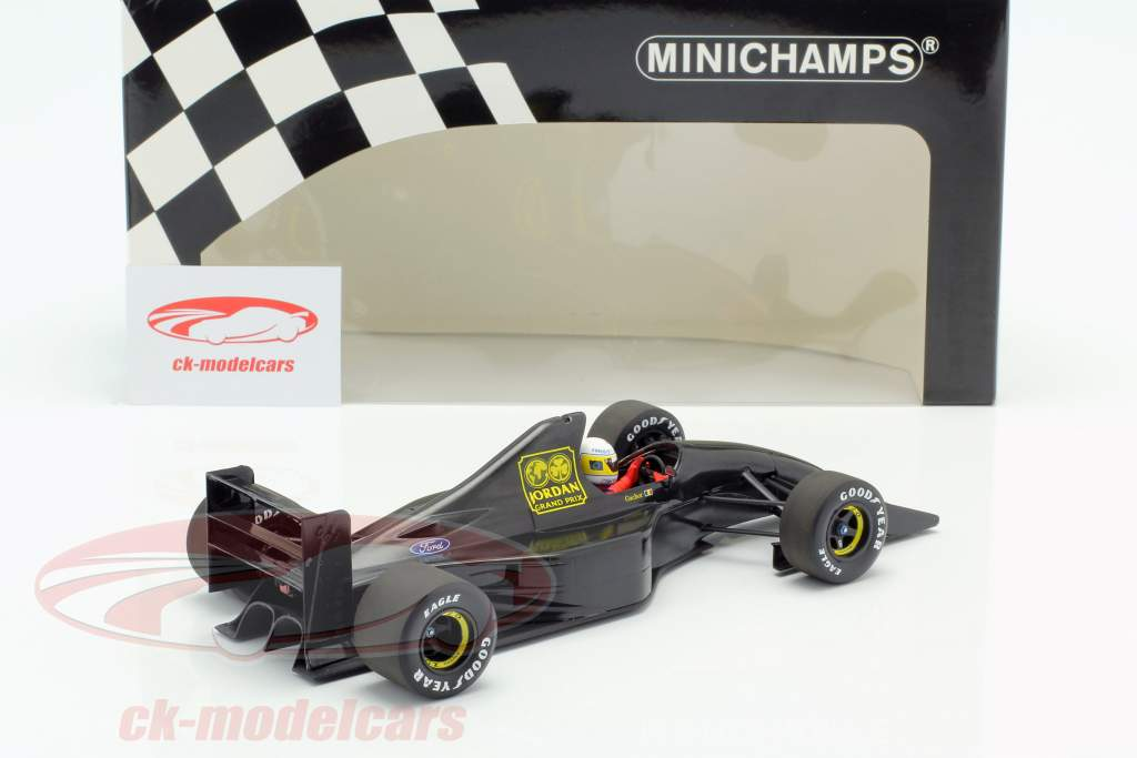 Bertrand Gachot Jordan 191 formula 1 test Paul Ricard January 1991 1:18 Minichamps