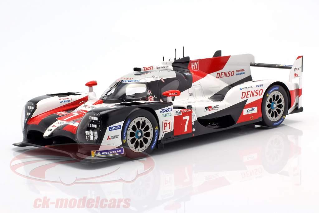 Toyota TS050 Hybrid #7 2 ° 24h LeMans 2019 Conway, Kobayashi, Lopez 1:18 Spark