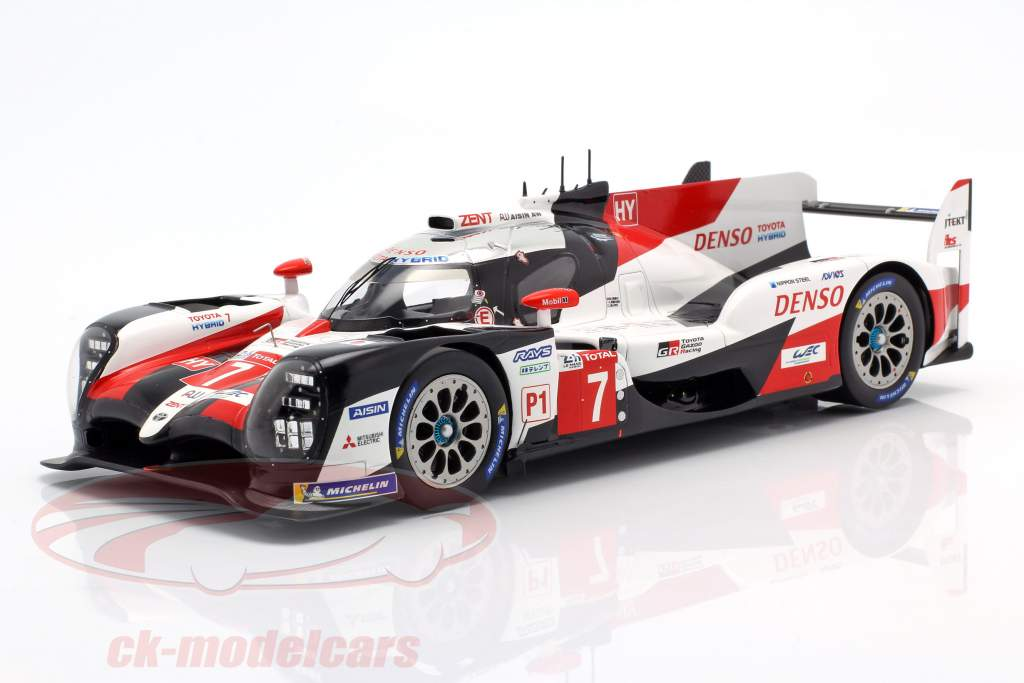 Toyota TS050 Hybrid #7 2nd 24h LeMans 2019 Conway, Kobayashi, Lopez 1:18 Spark