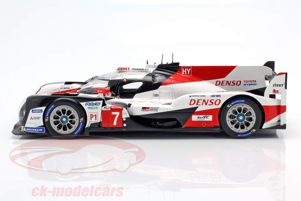 Toyota TS050 Hybrid #7 2º 24h LeMans 2019 Conway, Kobayashi, Lopez 1:18 Spark