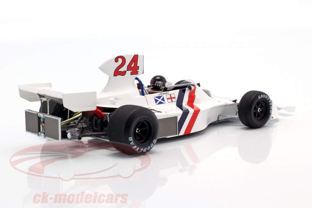 James Hunt Hesketh 308 #24 Sieger Niederlande GP Formel 1 1975 1:18 Spark