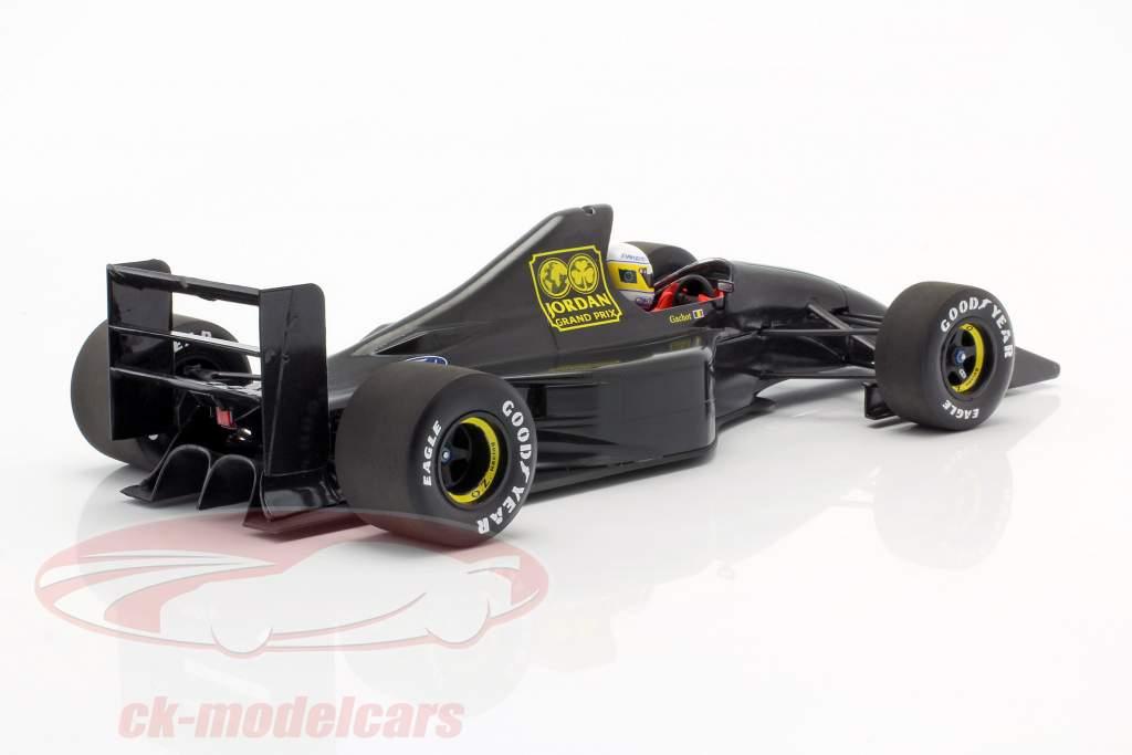 Bertrand Gachot Jordan 191 Formule 1 Test Paul Ricard Januari 1991 1:18 Minichamps