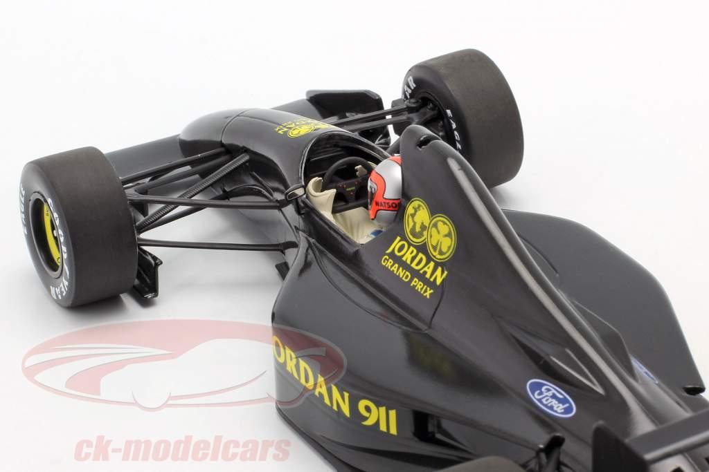 John Watson Jordan 911 Formule 1 Test Silverstone Novembre 1990 1:18 Minichamps
