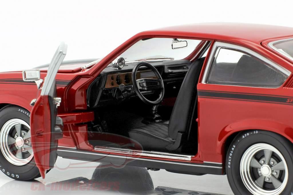 Chevrolet Vega Yenko Stinger year 1972 red 1:18 Autoworld