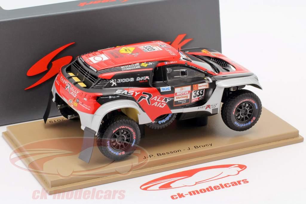 Peugeot 3008 DKR Maxi #333 Rallye Dakar 2019 Besson, Brucy 1:43 Spark