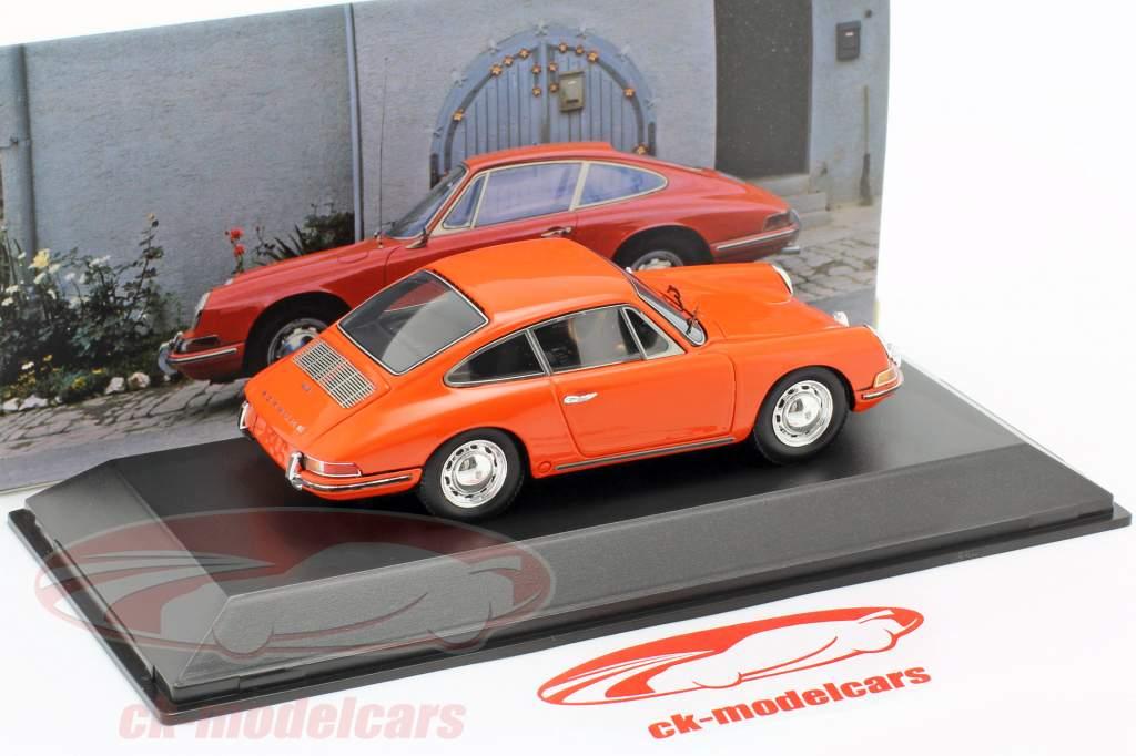 Porsche 912 Coupe Año de construcción 1968 naranja 1:43 Spark