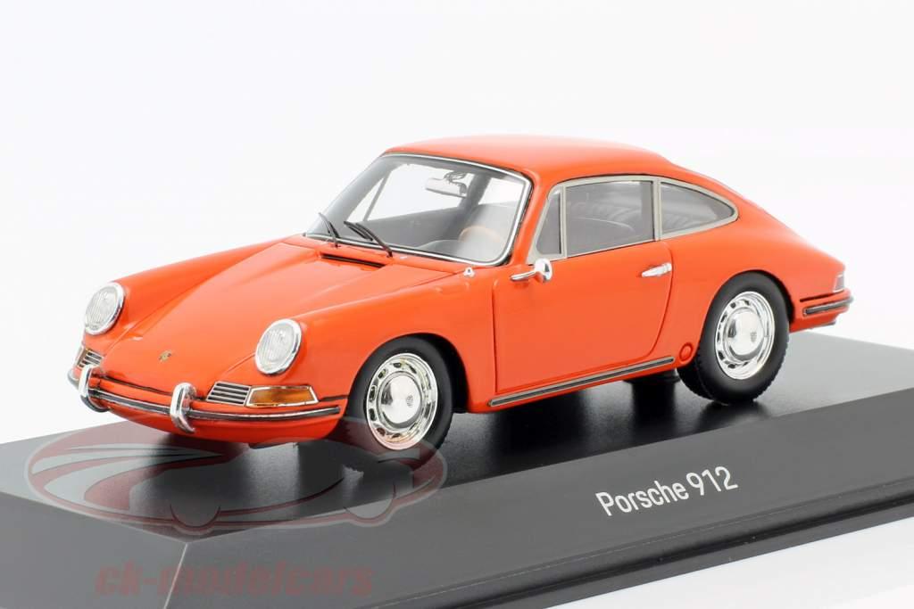 Porsche 912 Coupe Ano de construção 1968 laranja 1:43 Spark