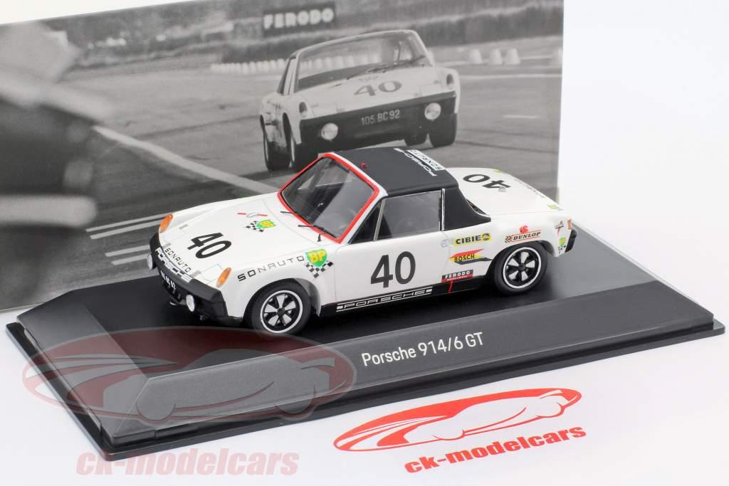 Porsche 914/6 GT #40 24h LeMans 1970 50th Anniversary 1:43 Spark
