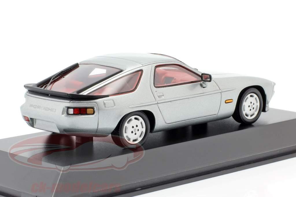 Porsche 928 S Baujahr 1980-1986 silber 1:43 Spark