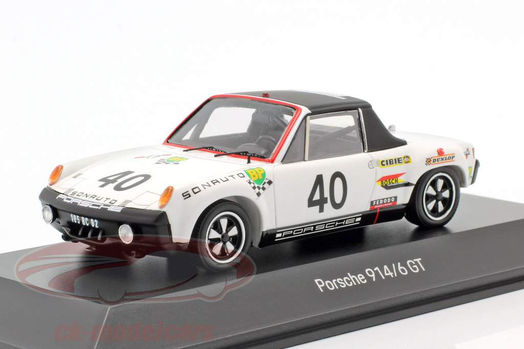 Porsche 914/6 GT #40 24h LeMans 1970 50 ° anniversario 1:43 Spark