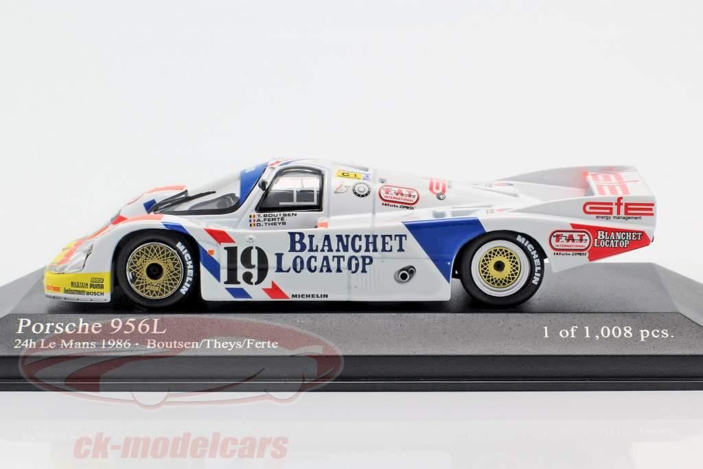 Porsche 956L #19 24h LeMans 1986 Brun Motorsport 1:43 Minichamps