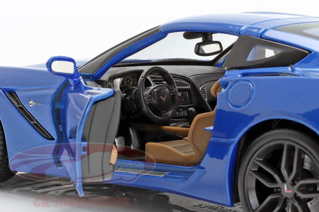 Chevrolet Corvette Stingray Z51 Année 2014 bleu 1:18 Maisto