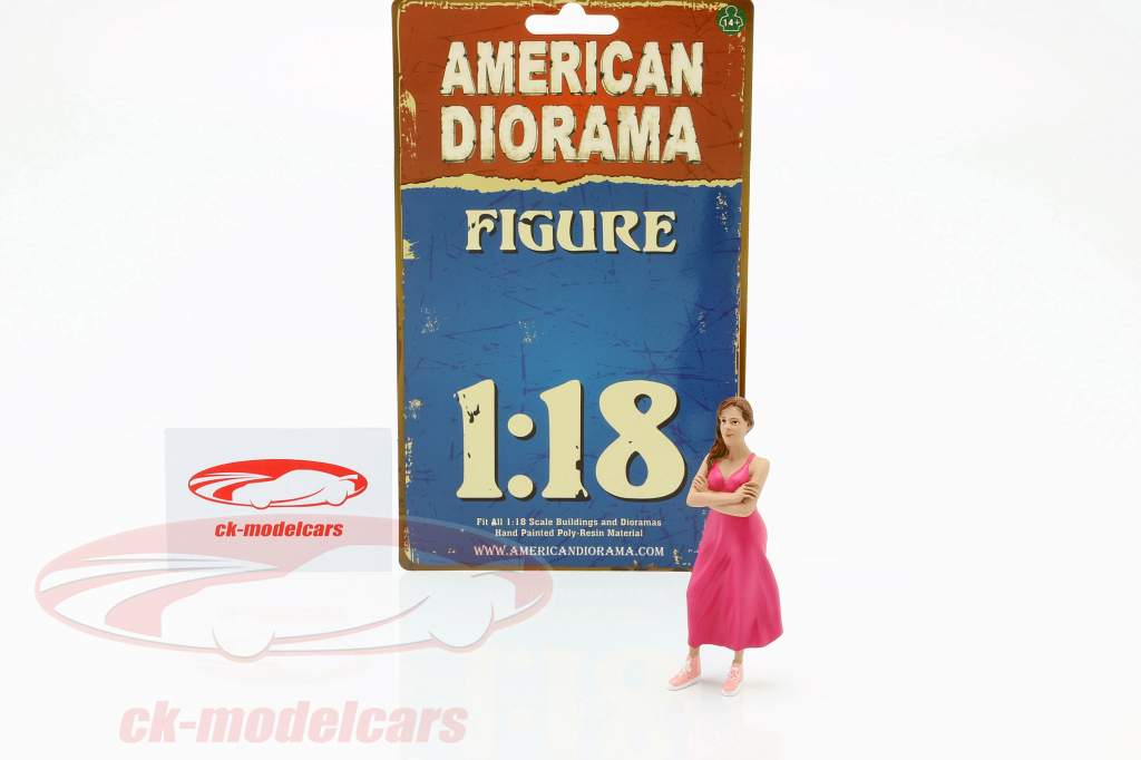 Partygoer Figure #2 1:18 American Diorama