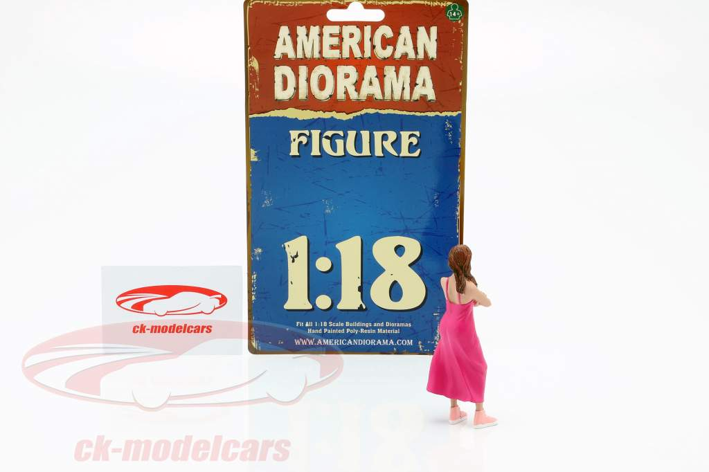 partygoer figur #2 1:18 American Diorama