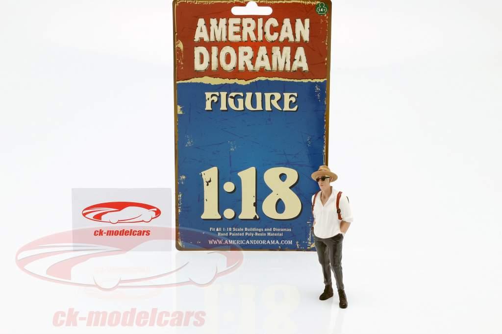 Asistente de fiesta Figura #3 1:18 American Diorama