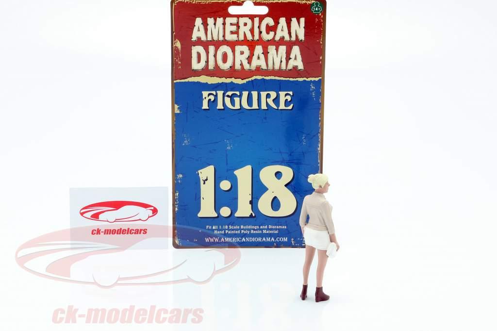 Feestvierder Figuur #4 1:18 American Diorama
