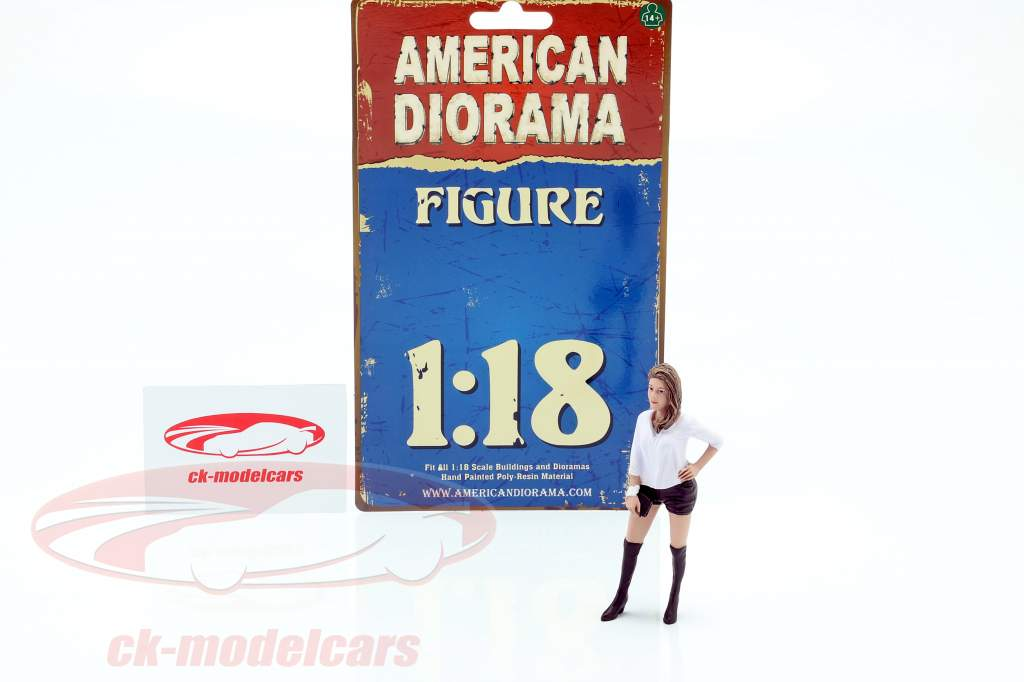 Asistente de fiesta Figura #7 1:18 American Diorama