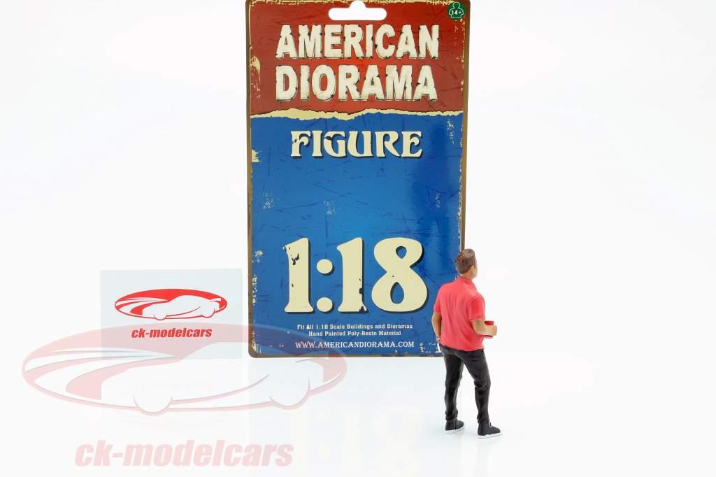 Feestvierder Figuur #6 1:18 American Diorama