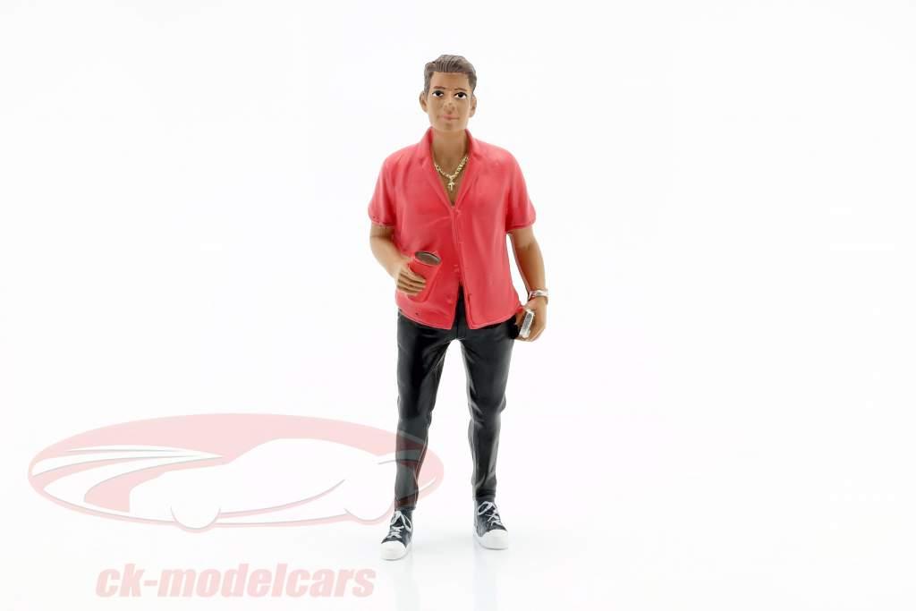 Partygoer La figure #6 1:18 American Diorama