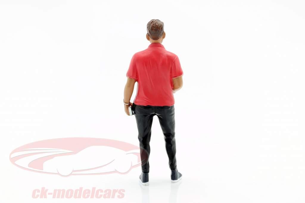Partygoer Figura #6 1:18 American Diorama